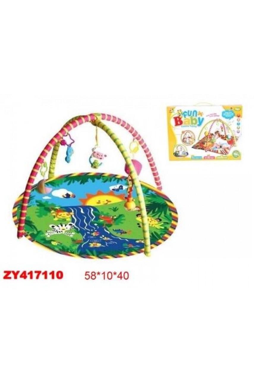 Детский игровой развивающий коврик арт.127-11