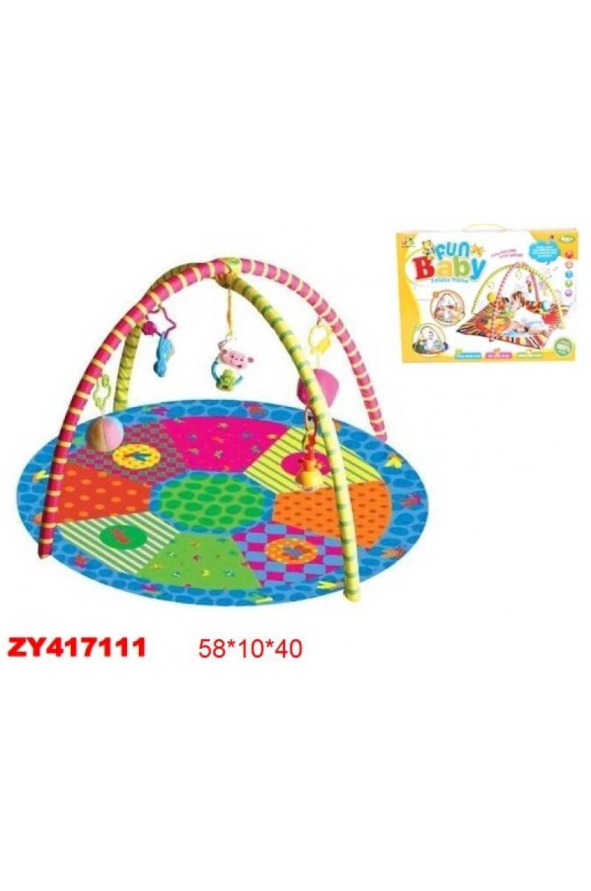 Детский игровой развивающий коврик арт.127-12