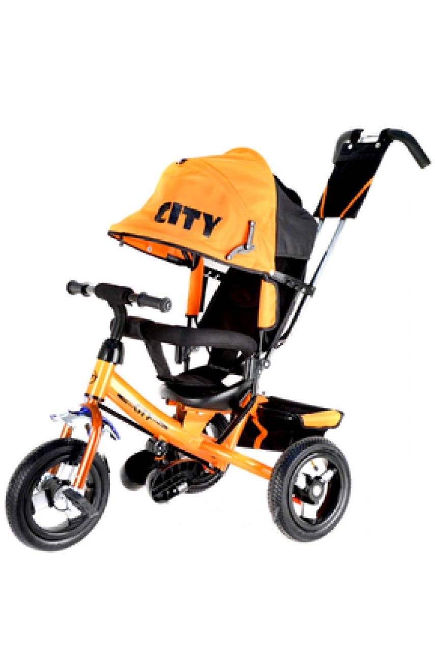Детский трехколесный велосипед Trike City JW7O надувные колеса