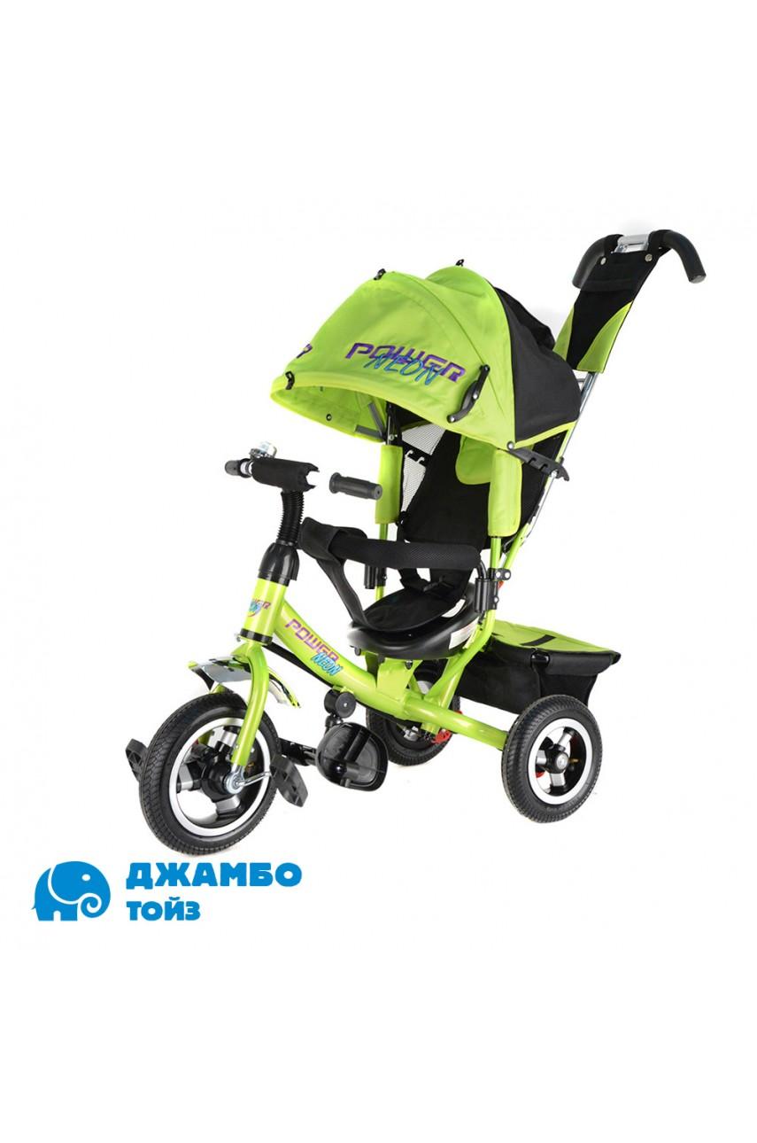 Детский трехколесный велосипед Trike Power Neon JP7NG зеленый