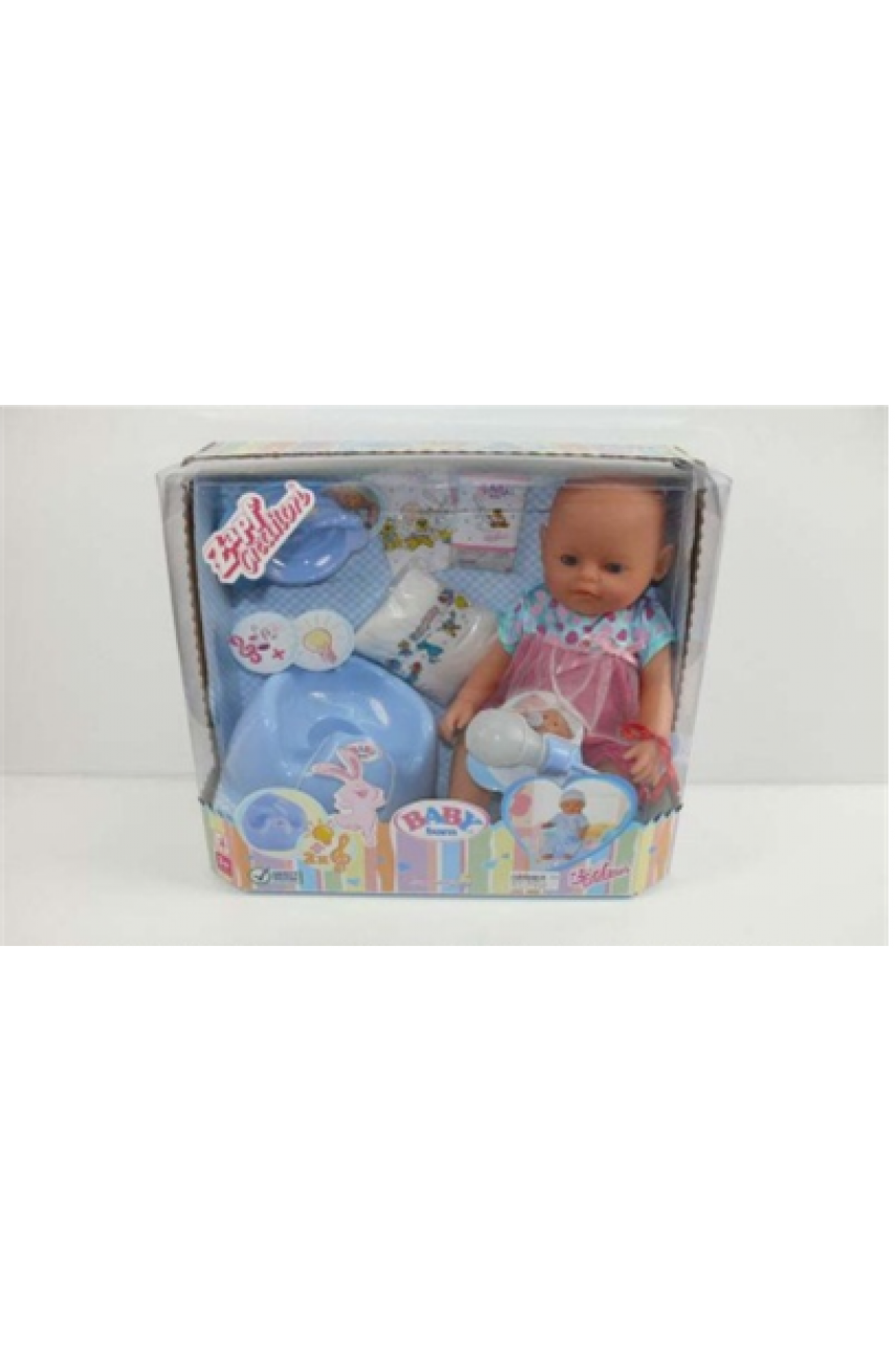 Кукла Baby born с музыкальным горшком