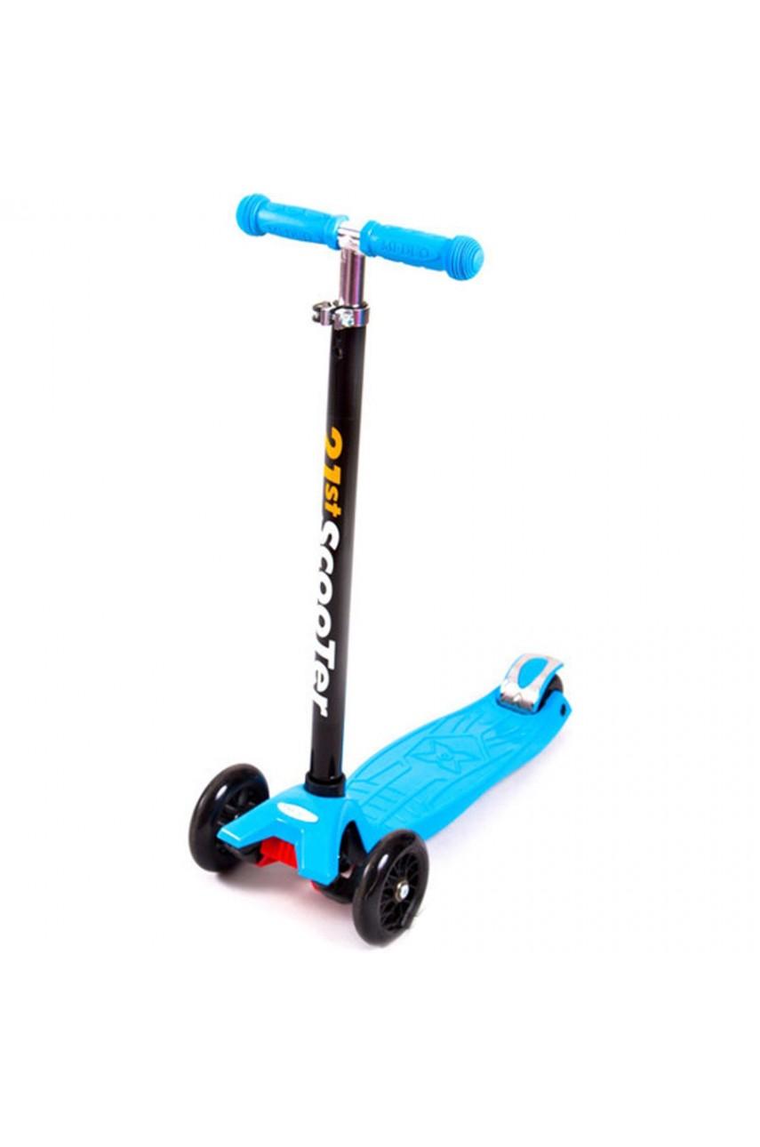 Детский трехколесный самокат 21 st scooter maxi