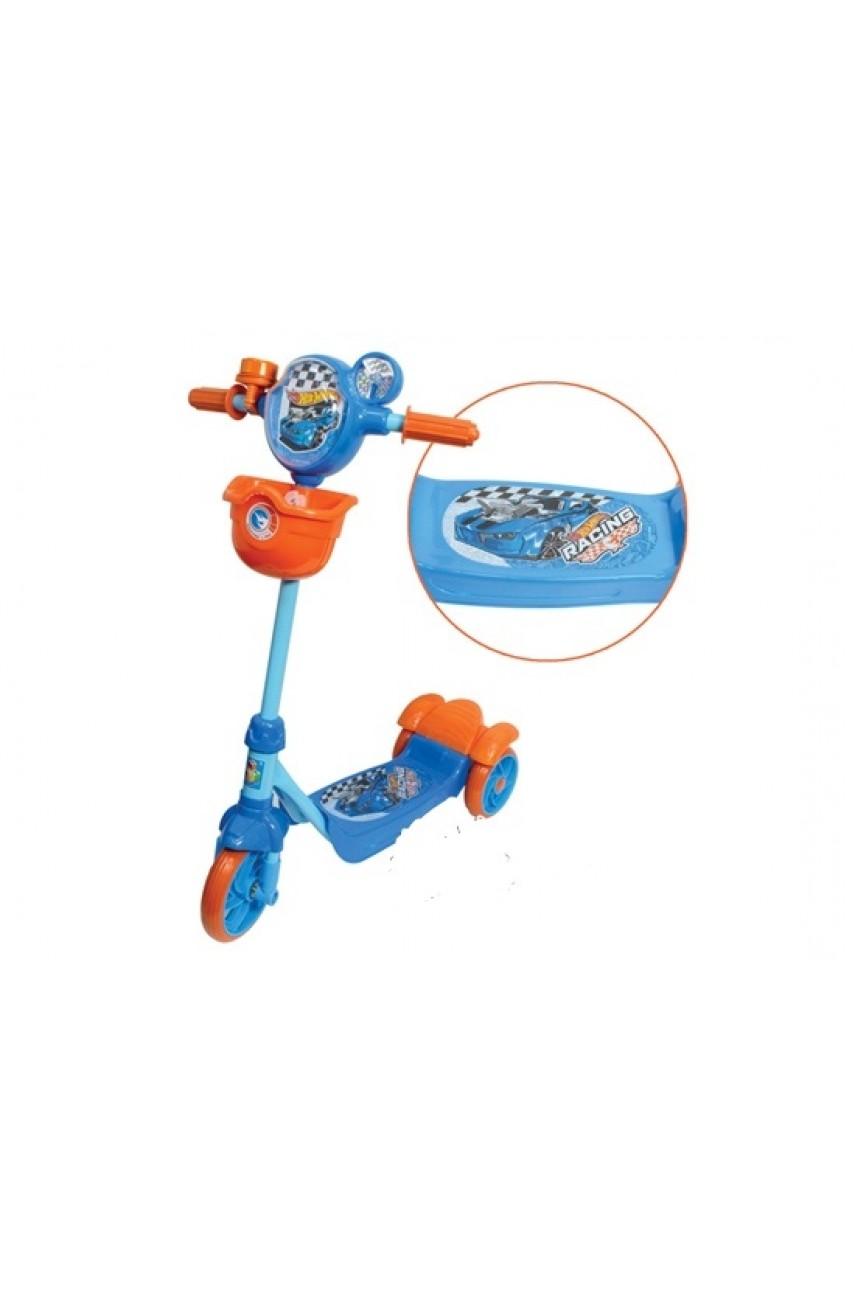 Детский самокат трехколесный 1Toy Hot Wheels Т57577
