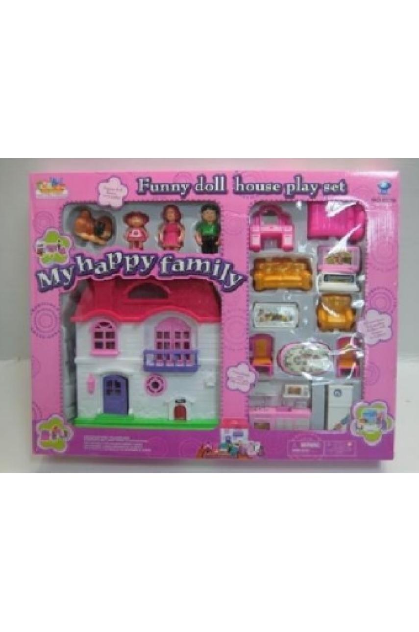 Домик для кукол My happy family 8035