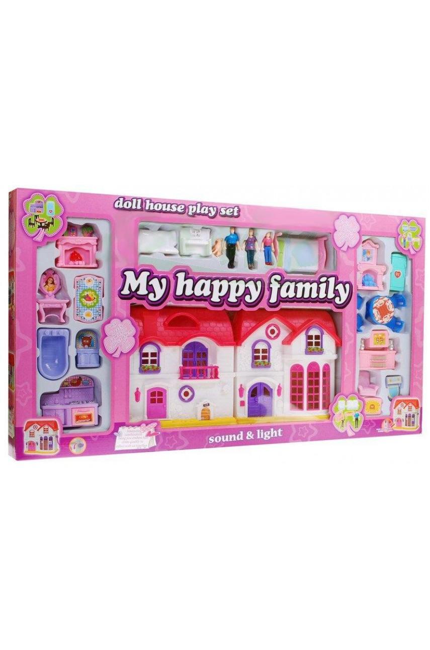 Домик для кукол My happy family 8068