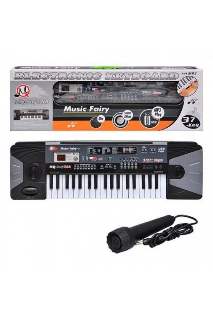 Детский синтезатор пианино MQ 805 USB