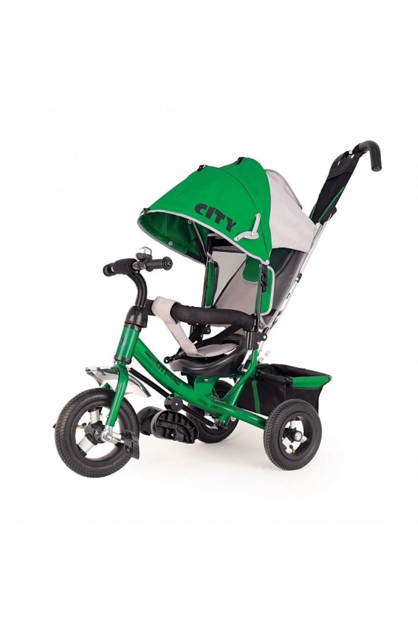 Детский трехколесный велосипед Trike City JW7G надувные колеса