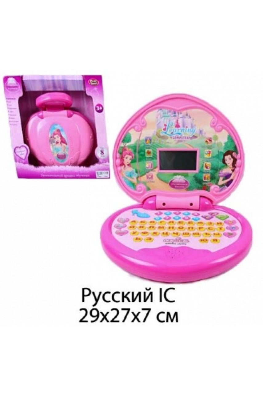 Детский обучающий компьютер Принцесса арт 7384
