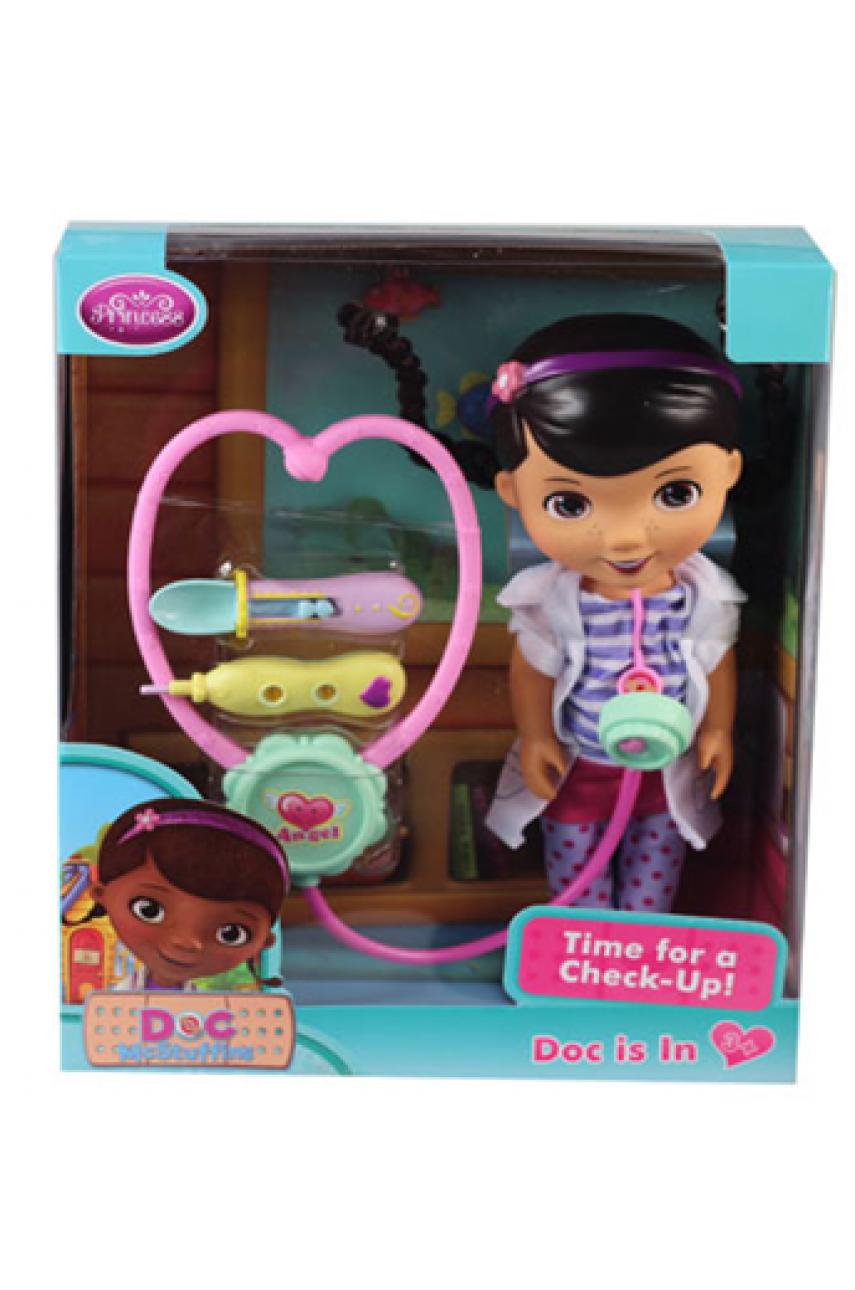 Кукла Доктор Плюшева ZT9942 с медицинским набором