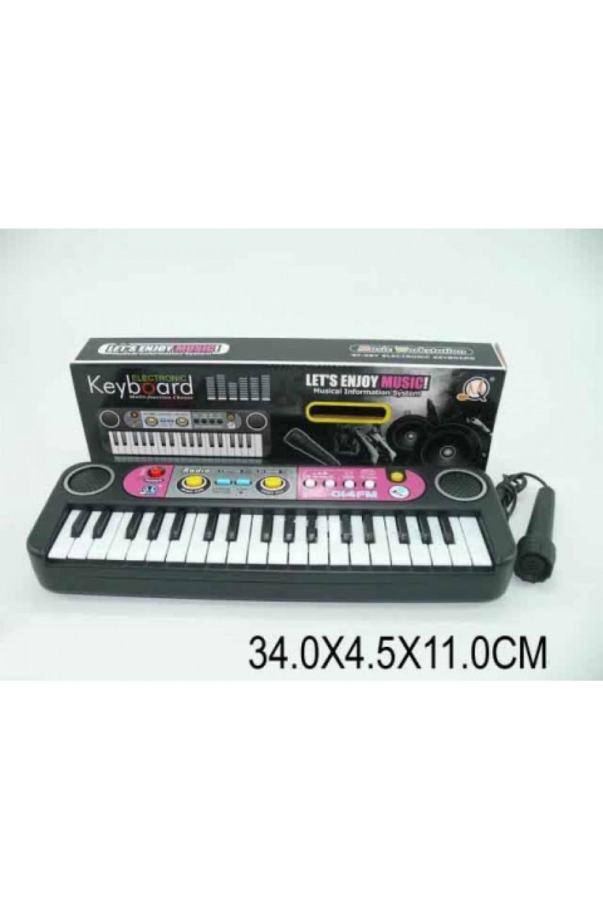 Детский синтезатор MQ014FM с радио