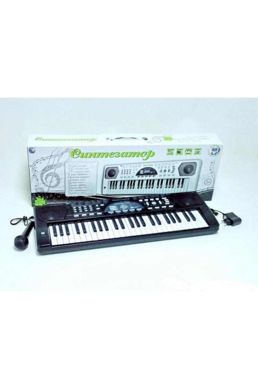 Детский синтезатор пианино, 49 клавиш с USB выходом