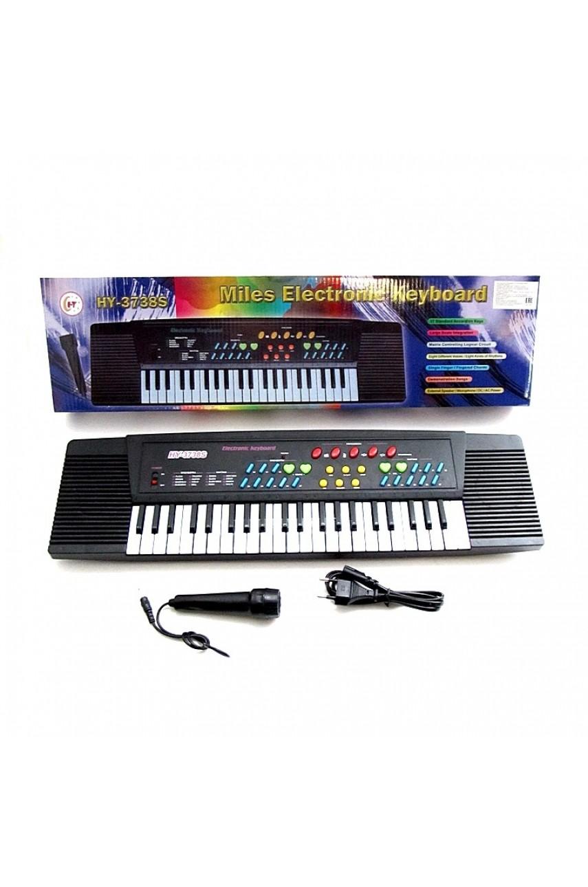 Детский синтезатор 3738s 44 клавиши