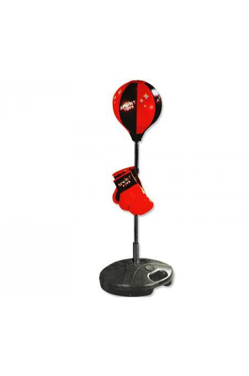 Детский набор для бокса напольный 90-130 см Sport Toys 7333