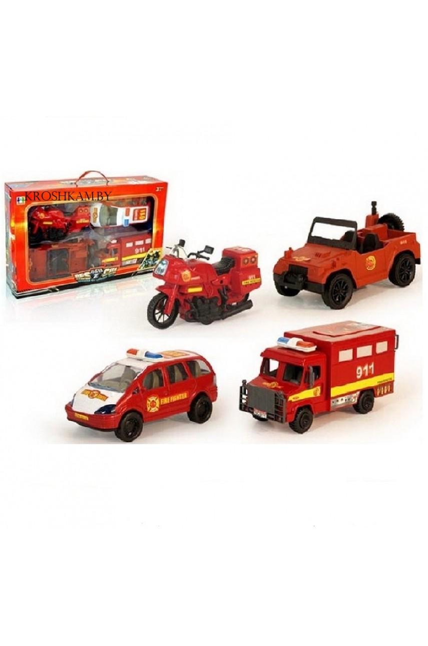 """Игровой набор """"Пожарная команда"""" 999-086b"""