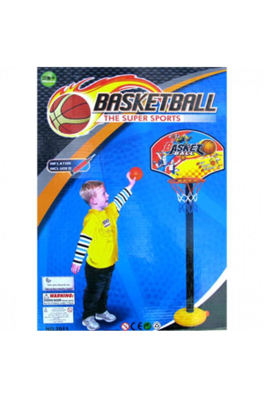 Баскетбольное кольцо детское на стойке Basketball super