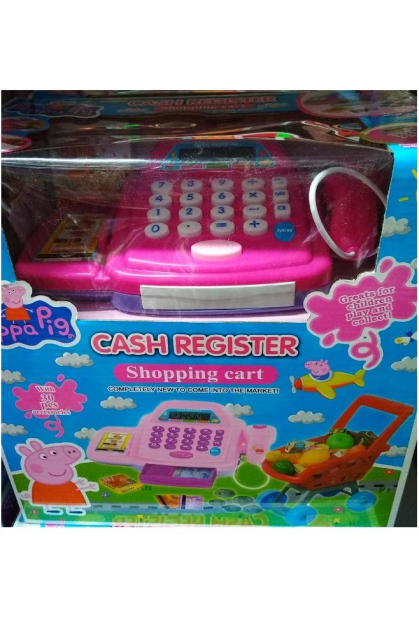 Игровой набор Касса с тележкой Peppa Pig BL8816P