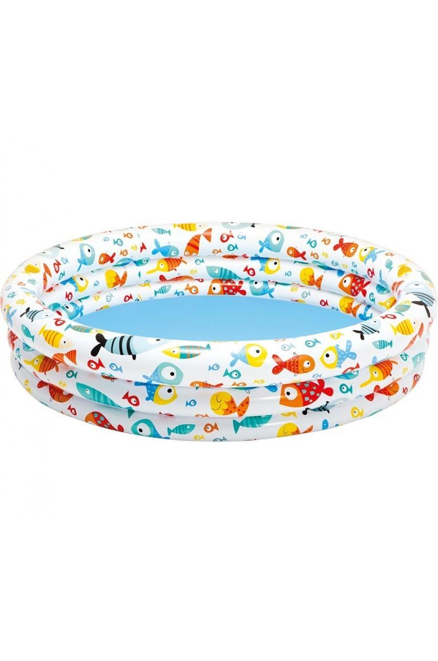 Бассейн надувной Intex 59431 Рыбки