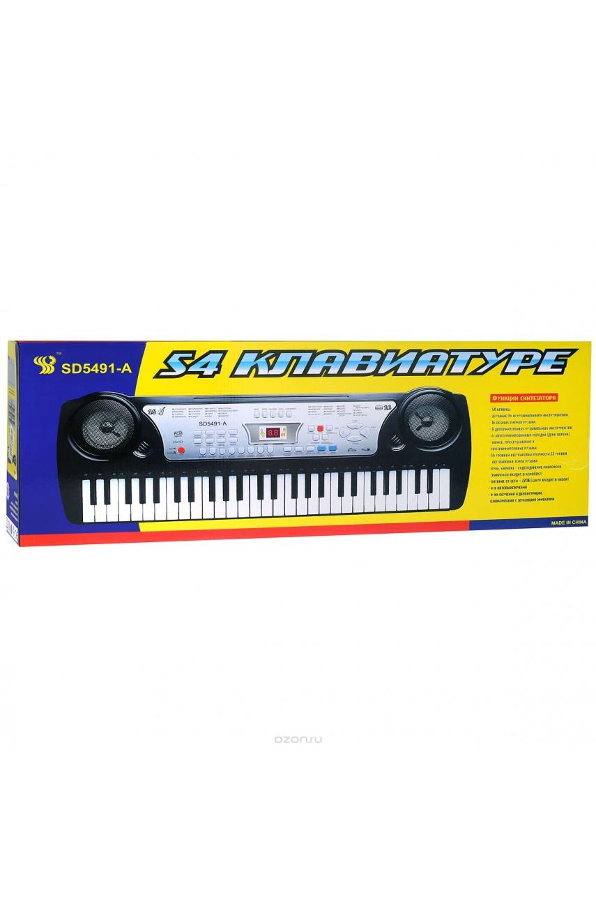 Детский синтезатор SD5491-A