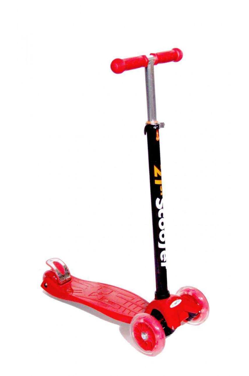 Детский трехколесный самокат 21st scooter maxi Красный