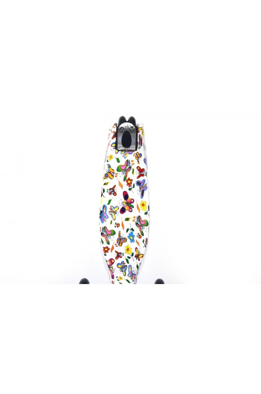 Детский трехколесный самокат FAVORIT maxi print 4108P