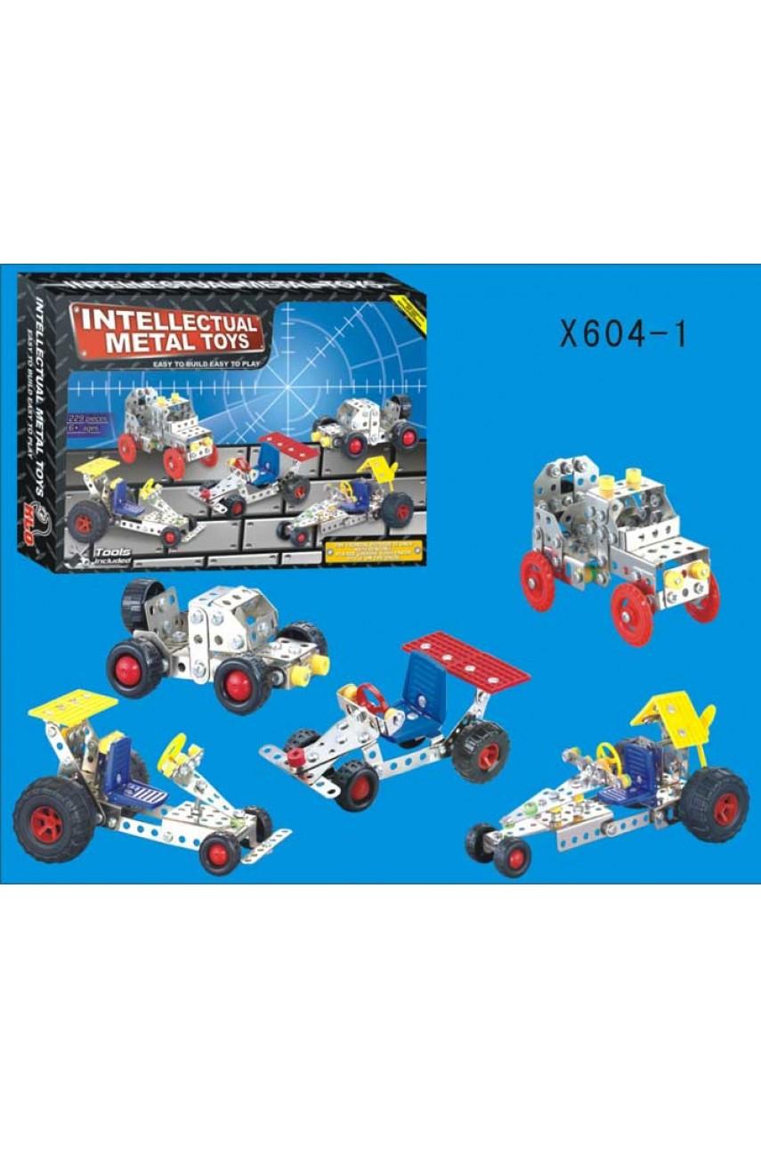 Конструктор металлический X604-1 229 деталей