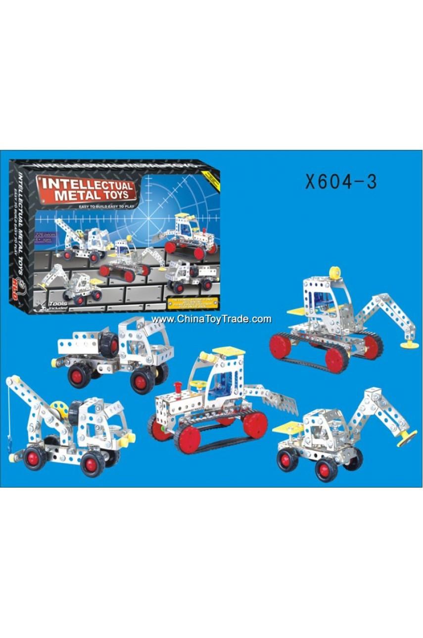 Конструктор металлический X604-3 226 деталей