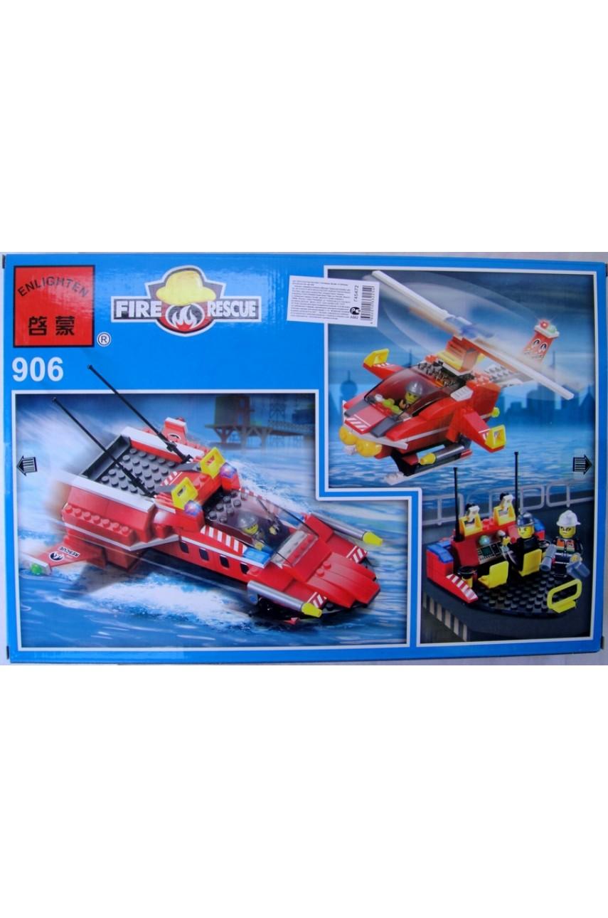 Конструктор Brick 906 Пожарные спасатели