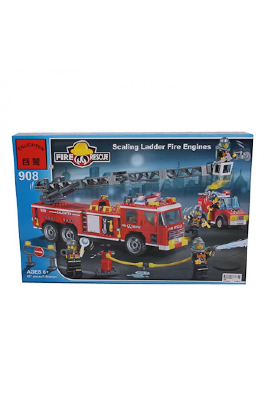 Конструктор Brick 908 Пожарная машина