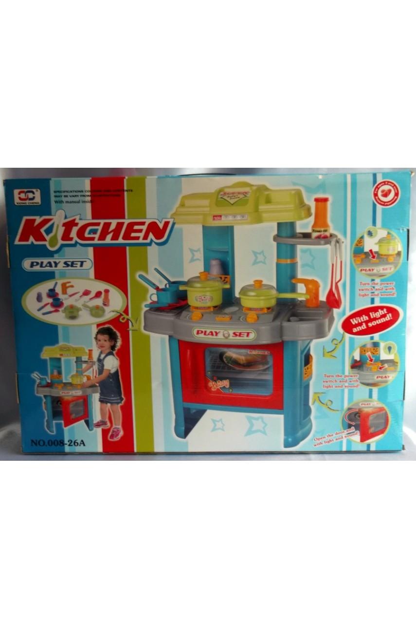 Детская игровая кухня Kitchen 008-26A