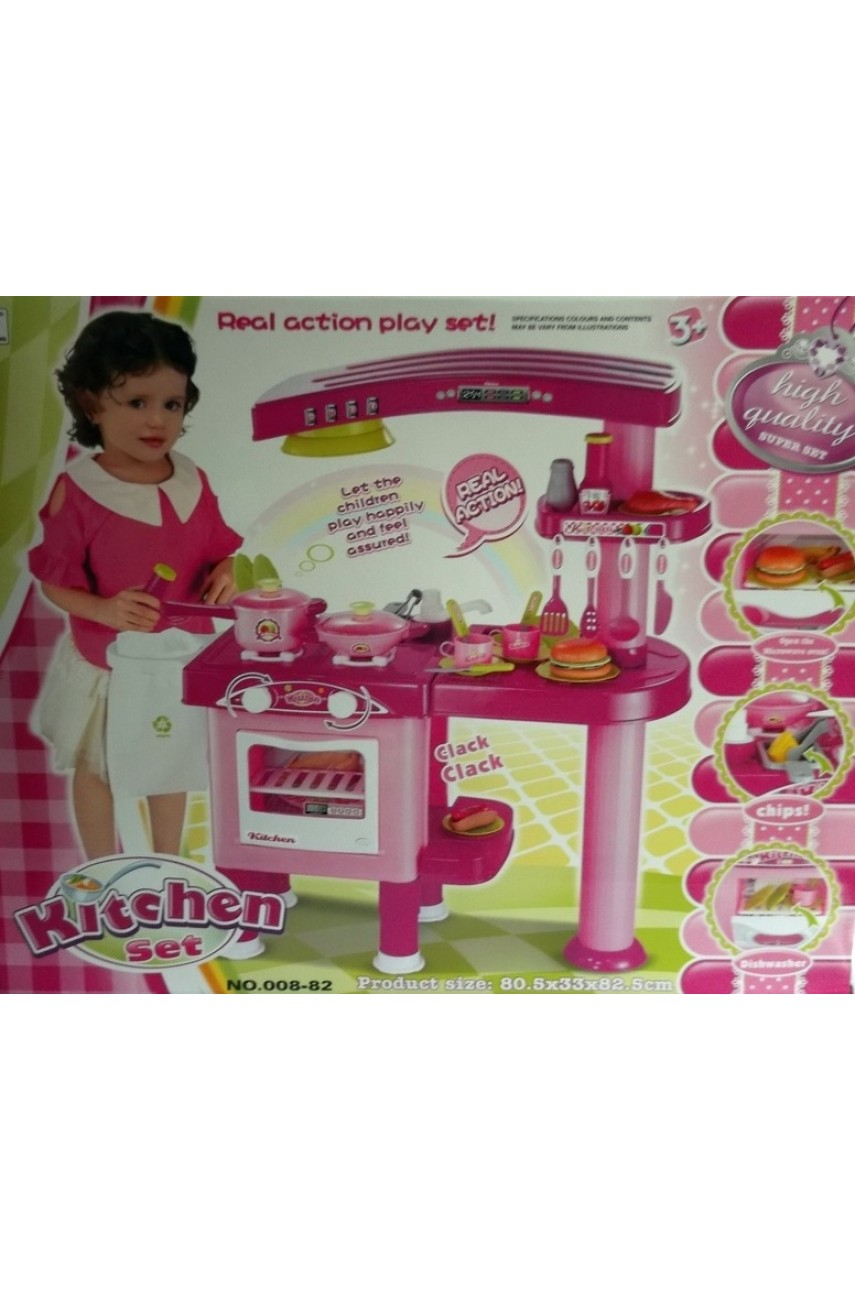Детская игровая кухня Kitchen 008-82