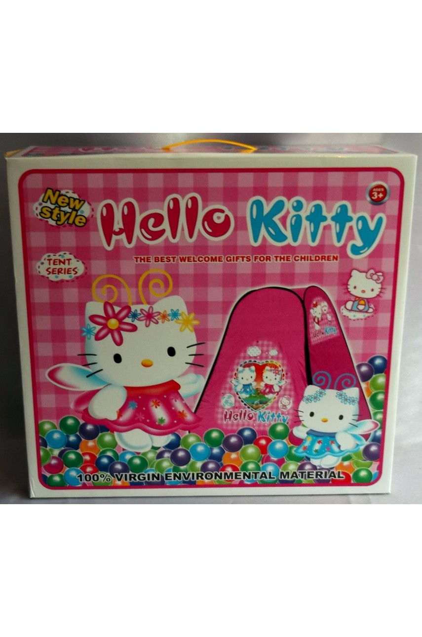 Детская игровая палатка Hello Kitty с шариками!