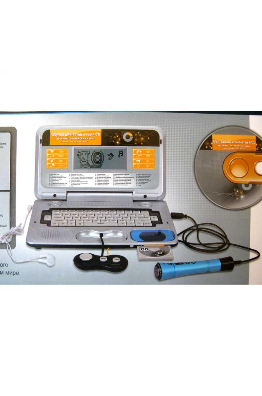 Детский компьютер 140 функций с микрофоном