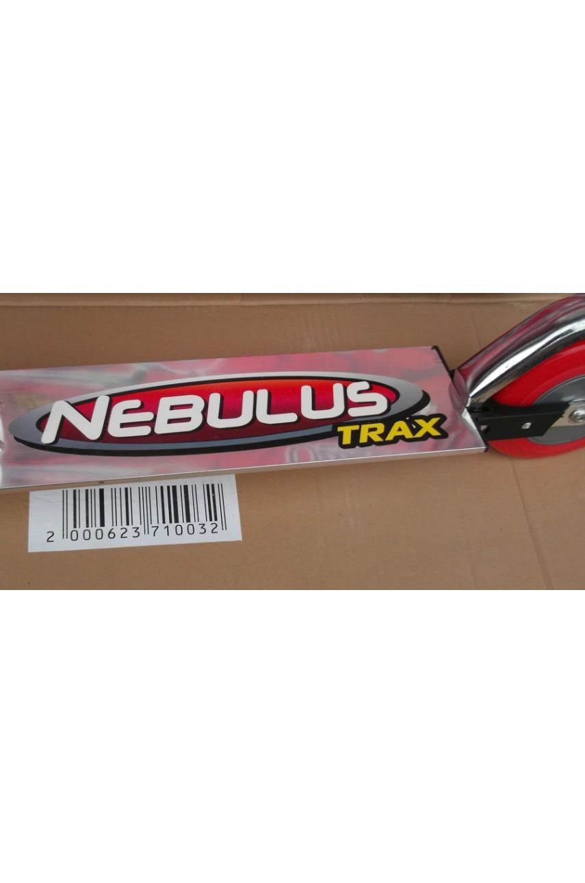 Детский самокат двухколёсный Nebulus trax красный, СИНИЙ