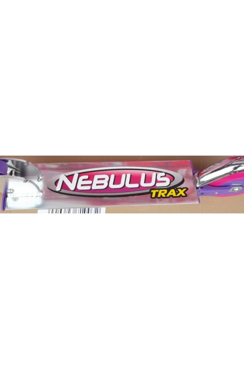 Детский самокат двухколёсный Nebulus trax розовый