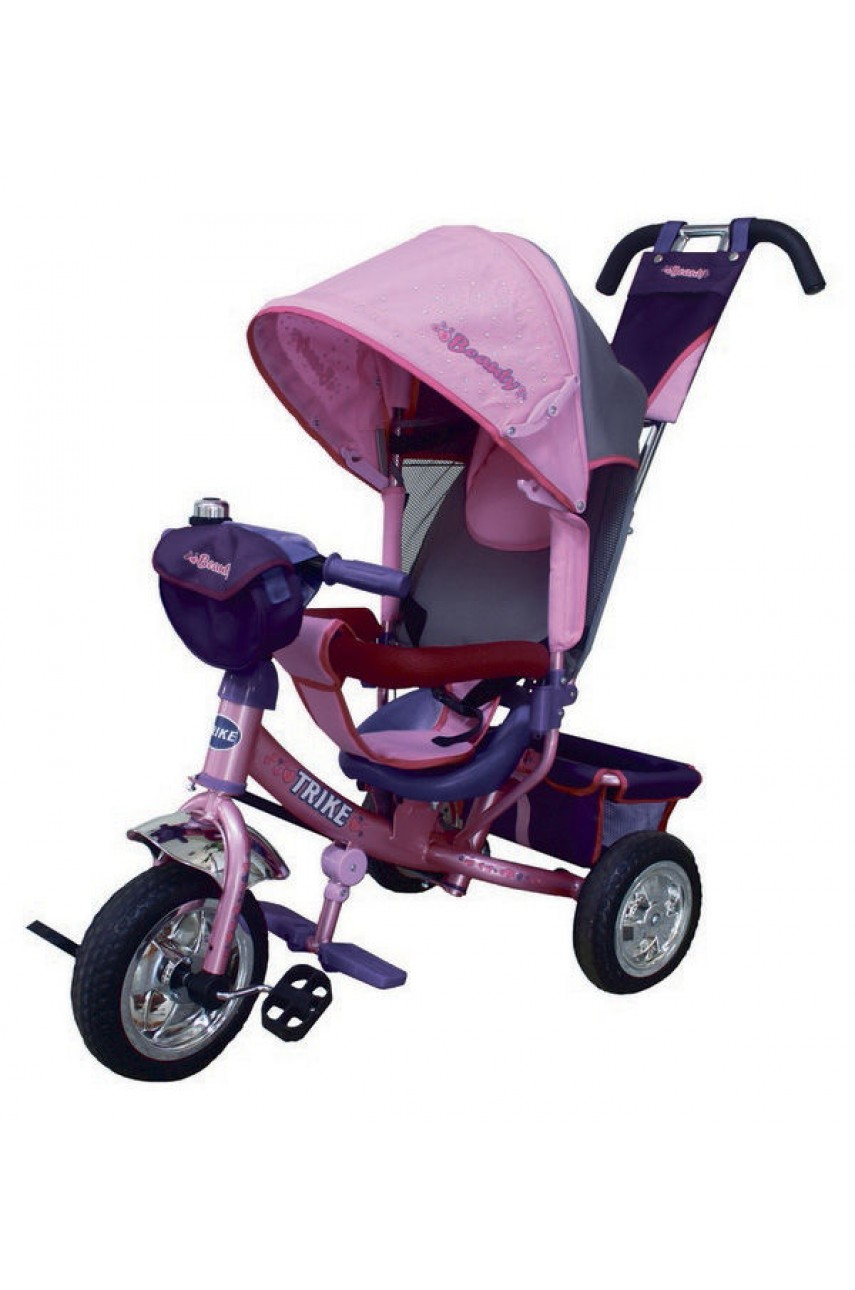 Детский трёхколёсный велосипед  Trike Beauty