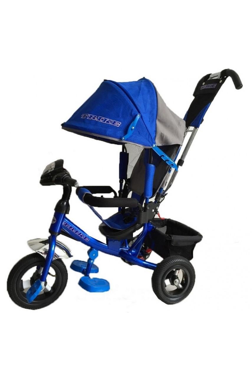 Детский трехколесный велосипед Trike TL 3B надувные колеса, фара
