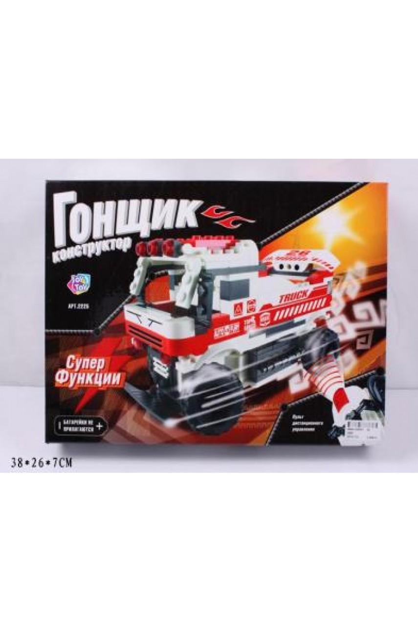 Конструктор-грузовик Гонщик на ИКУ, на бат. в кор. joy toy арт. 2225
