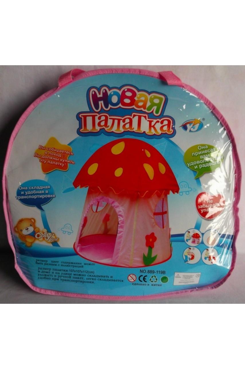 Детская игровая палатка Мухомор