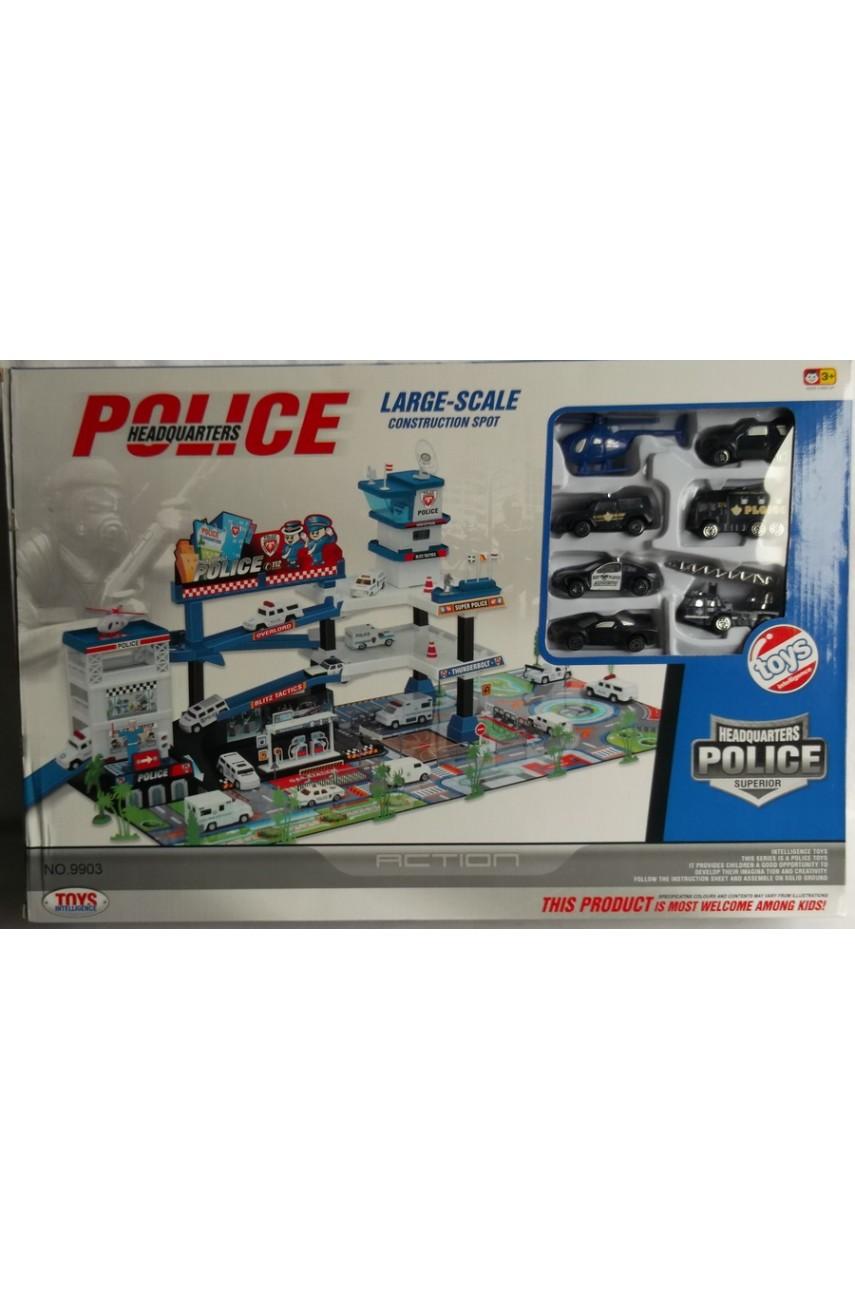 Игровой набор Police Штаб-квартира 9903