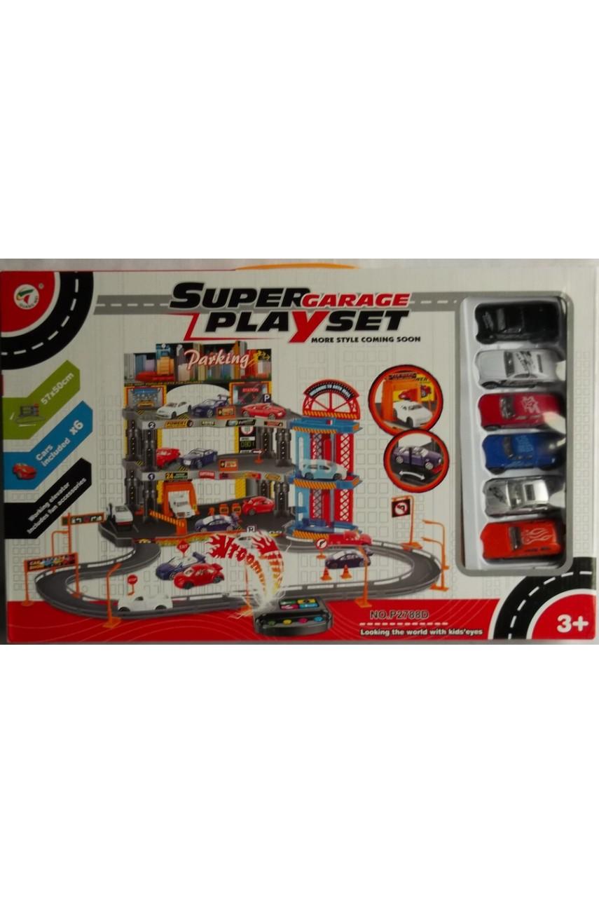 Игровой набор Super garage play set P2788D