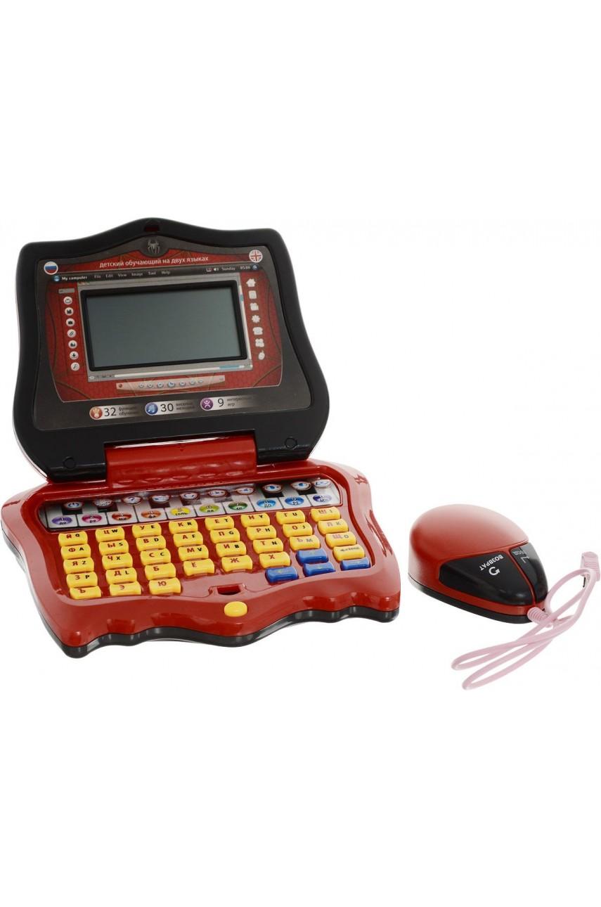 Детский обучающий компьютер Человек Паук 7074