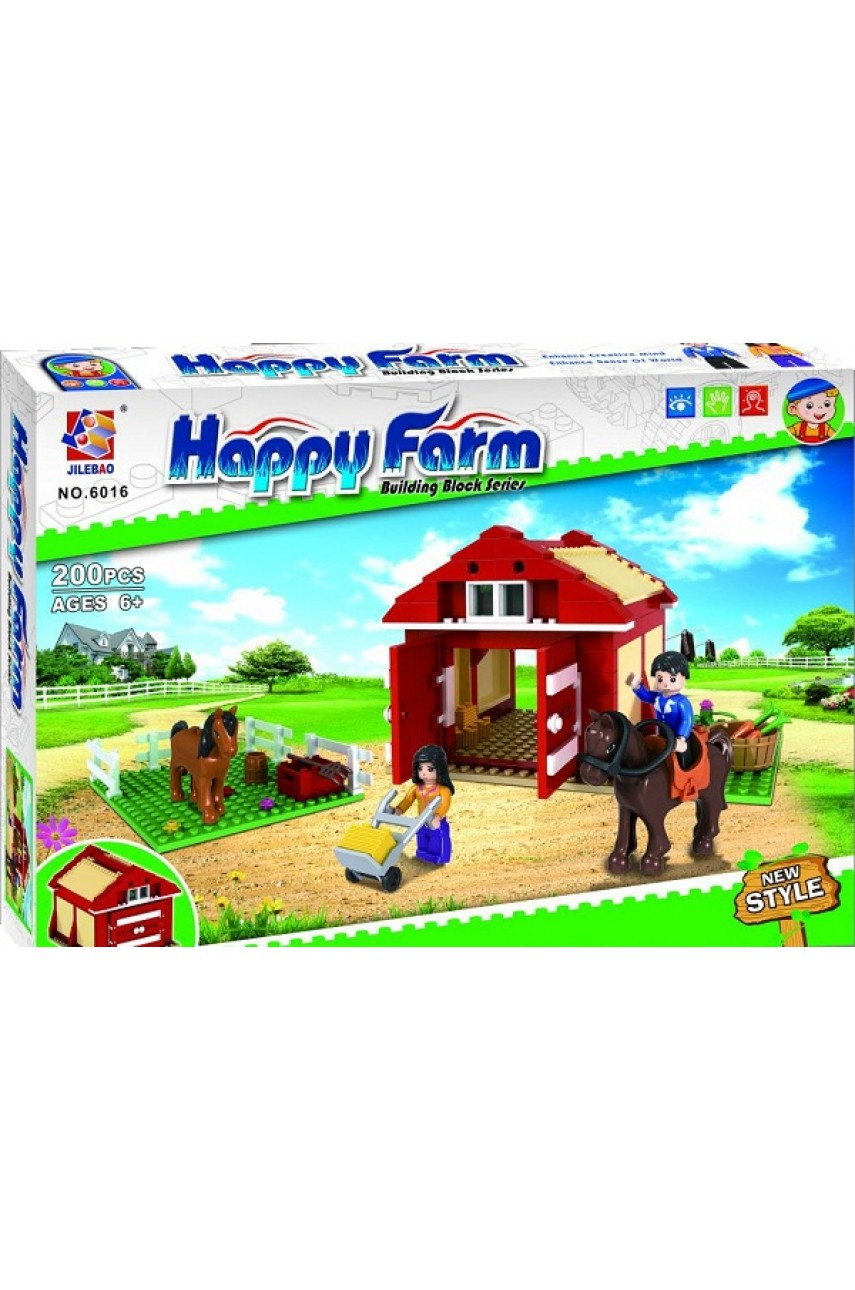 Конструктор 6016 Веселая ферма