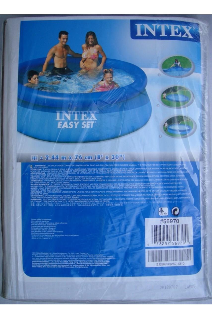 Intex 56970 бассейн Easy Set 244x76 см (без фильтр-насоса)