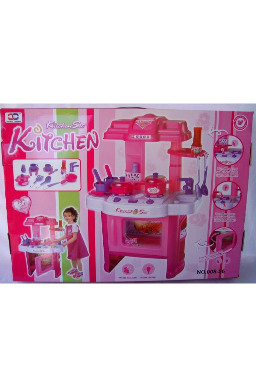 Детская игровая кухня Kitchen 008-26