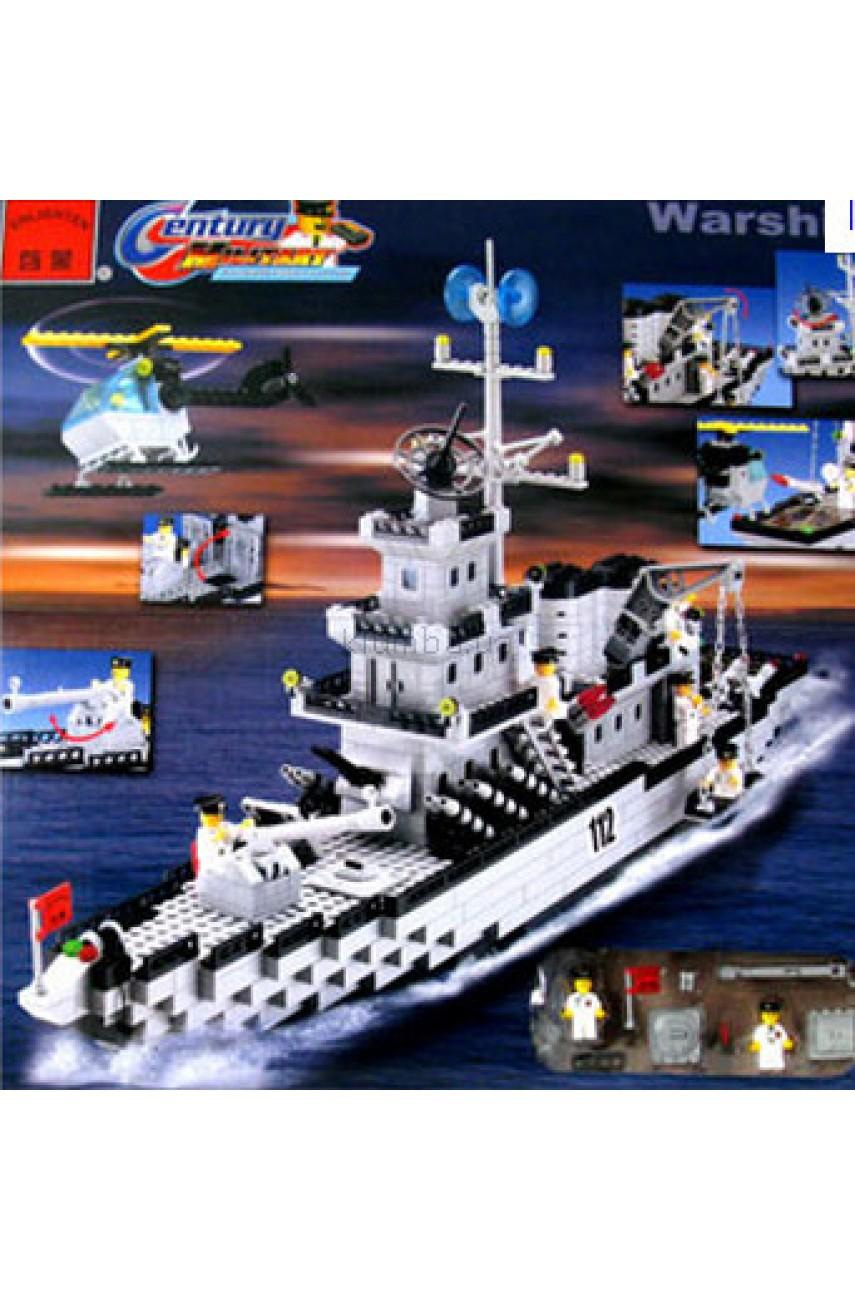 Конструктор Brick 112 Военный крейсер