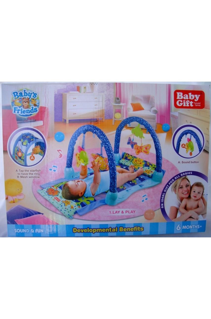 Детский развивающий коврик baby gift 3039
