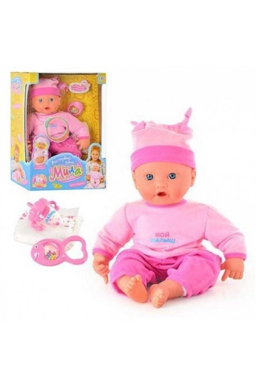 Кукла Мила Мой первый зубик 5259 серии Мой малыш