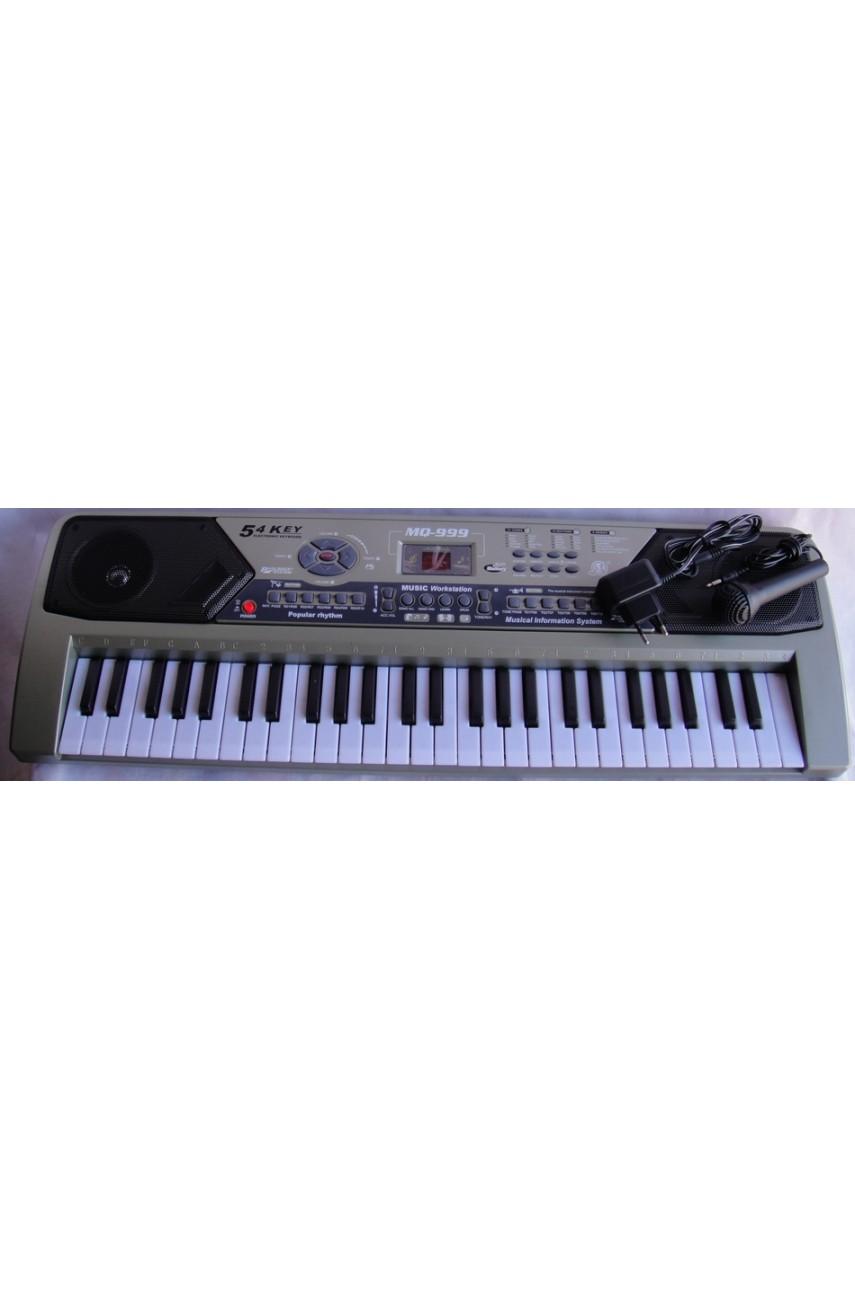 Детский синтезатор Music keyboard MQ-999