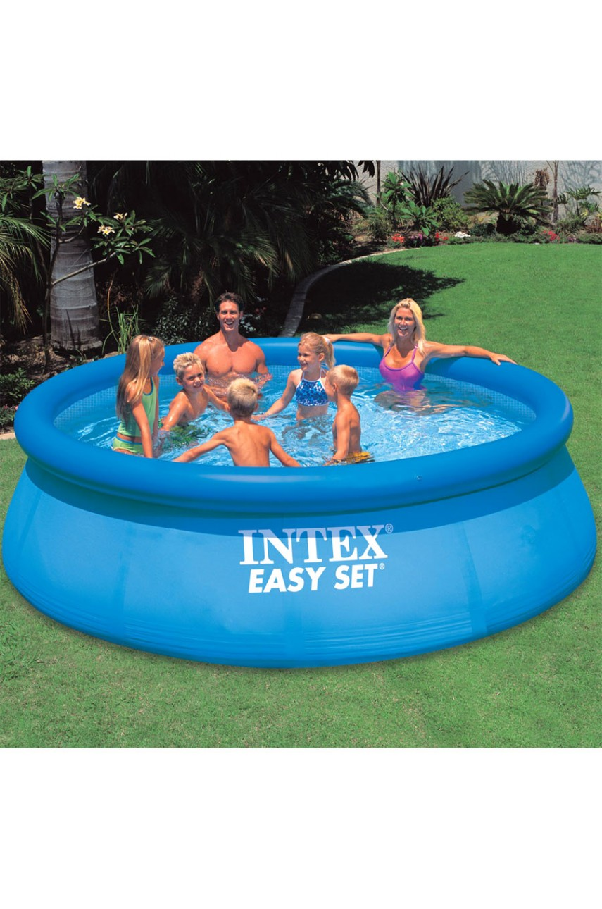 Intex 56932 Бассейн надувной Easy Set 366x91 см с фильтрующим насосом