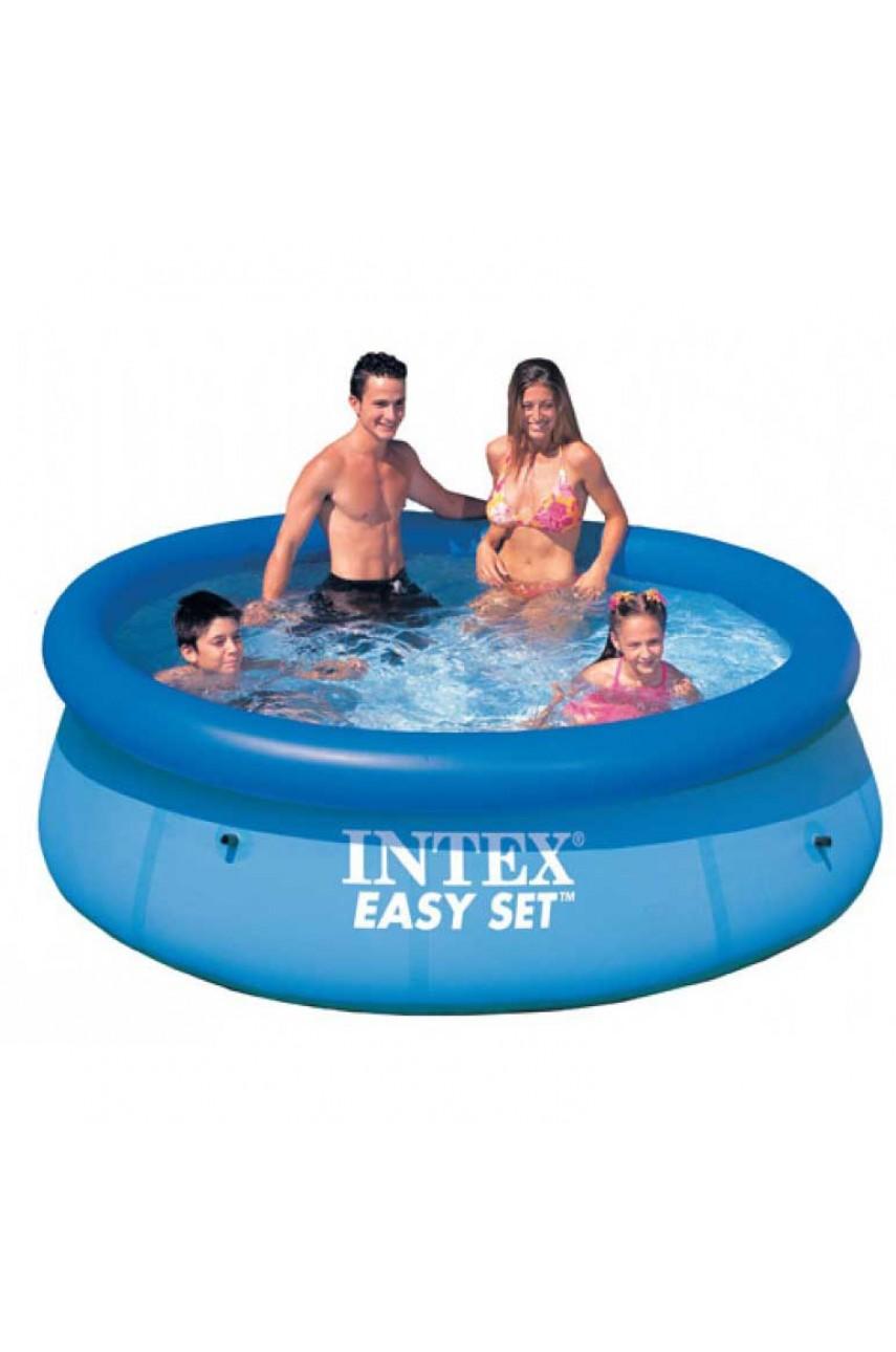 Intex 28112/56972 Байссейн Easy Set 244x76 см с фильтрующим насосом